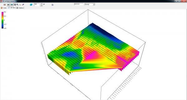 Обработка геофизических данных