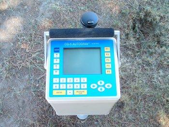 Гравиметр Scintrex CG-5 в Казахстане