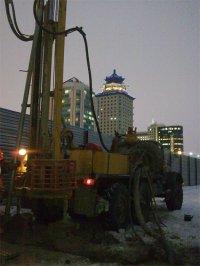 Инженерно-геологические изыскания в Центральном Казахстане
